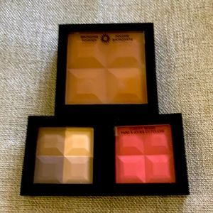 New Marcelle bronzer, blush, shadow